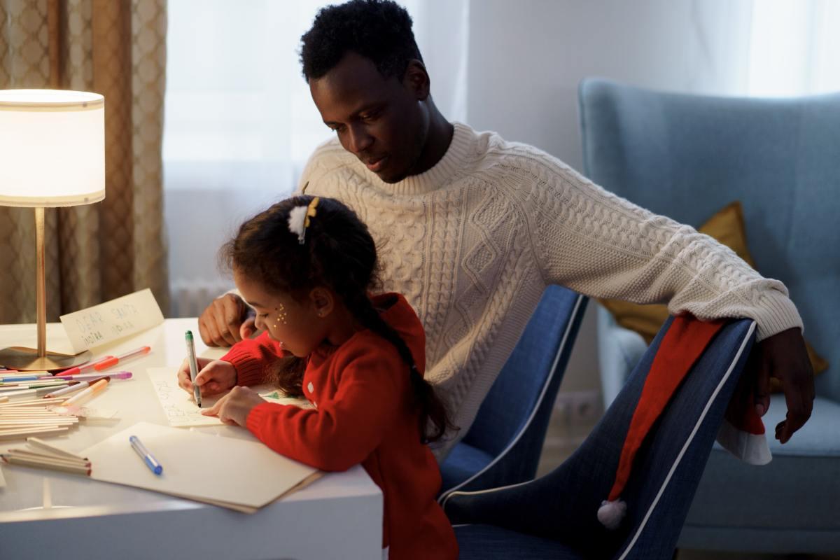 Fathers help to shape daughters' self-esteem.