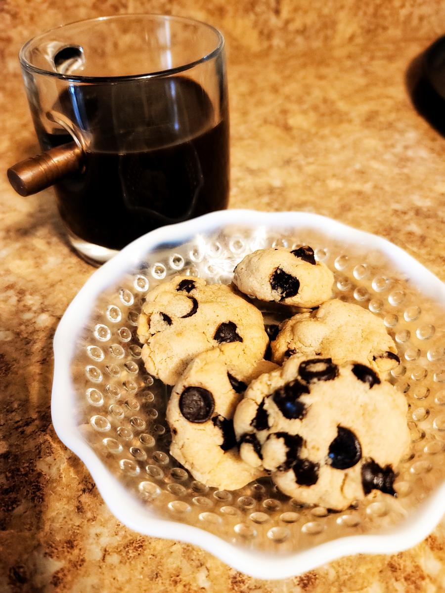 Peanut Butter Espresso Cookie Bites