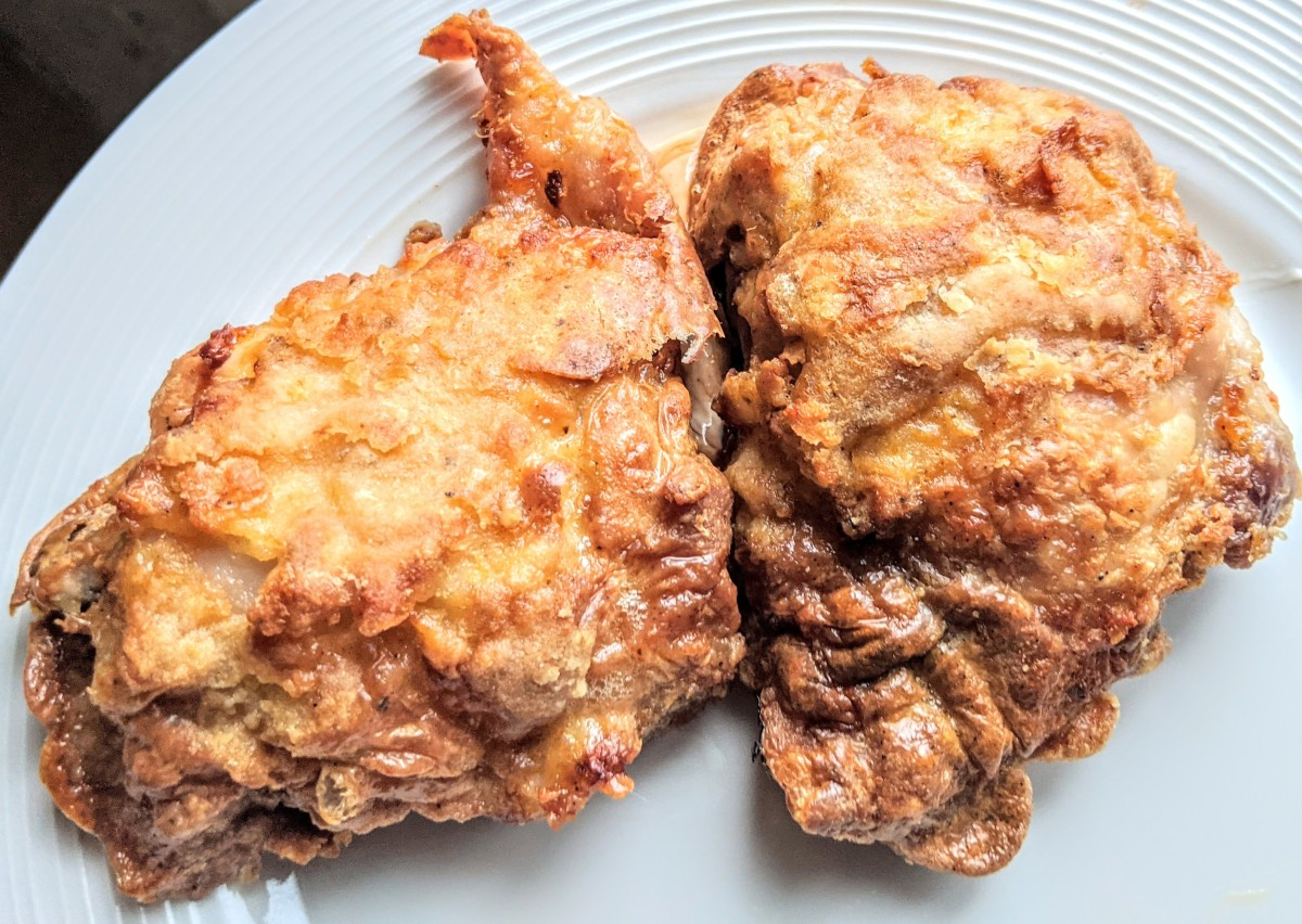 You can make restaurant-quality fried chicken from scratch in the air fryer