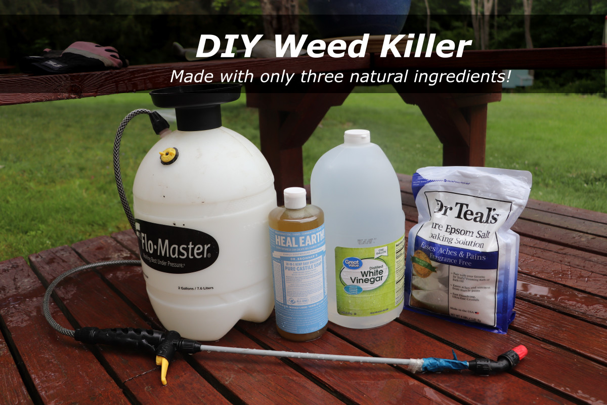 How to Get Rid of Weeds Naturally With Homemade Weed Killer