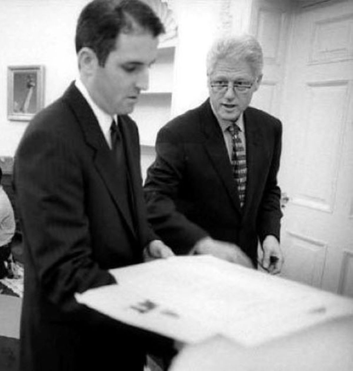 Doug Band and President Clinton, the early years.