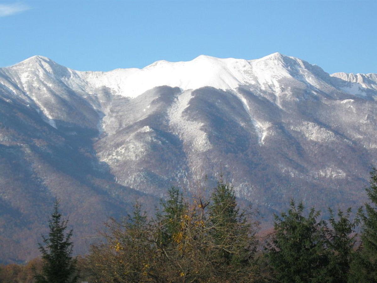 Mountain Velebit in the northern part of Croatia