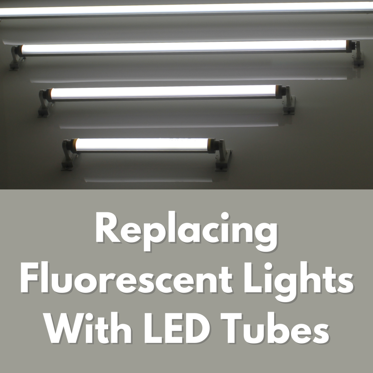 Swapping out your fluorescent tubes for LED tube lights will save electricity and money. Read about how I made the switch.