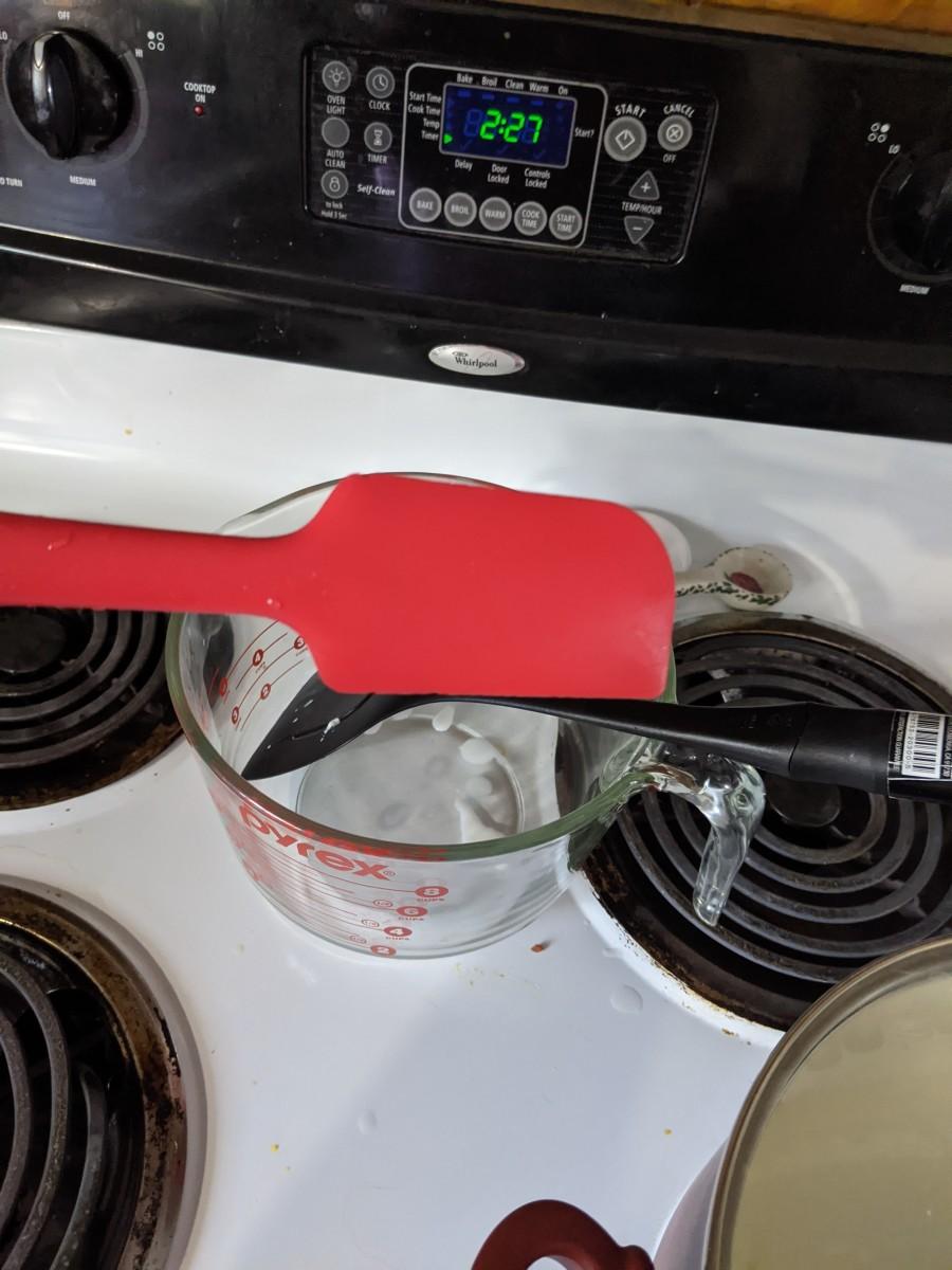keep spatula handy