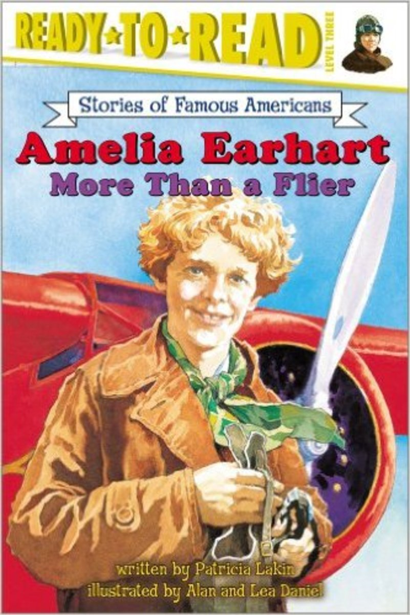 Amelia Earhart: More Than a Flier (Ready to Read, Level 3) by Patricia Lakin