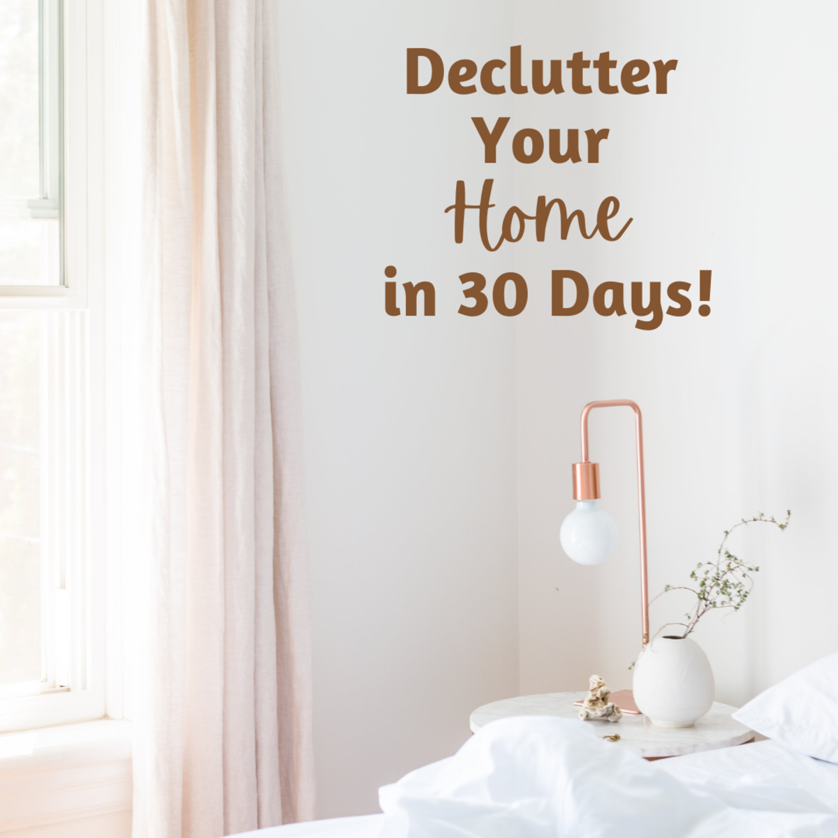 Living a cluttered life? Here's how you can declutter your home in just 30 days!