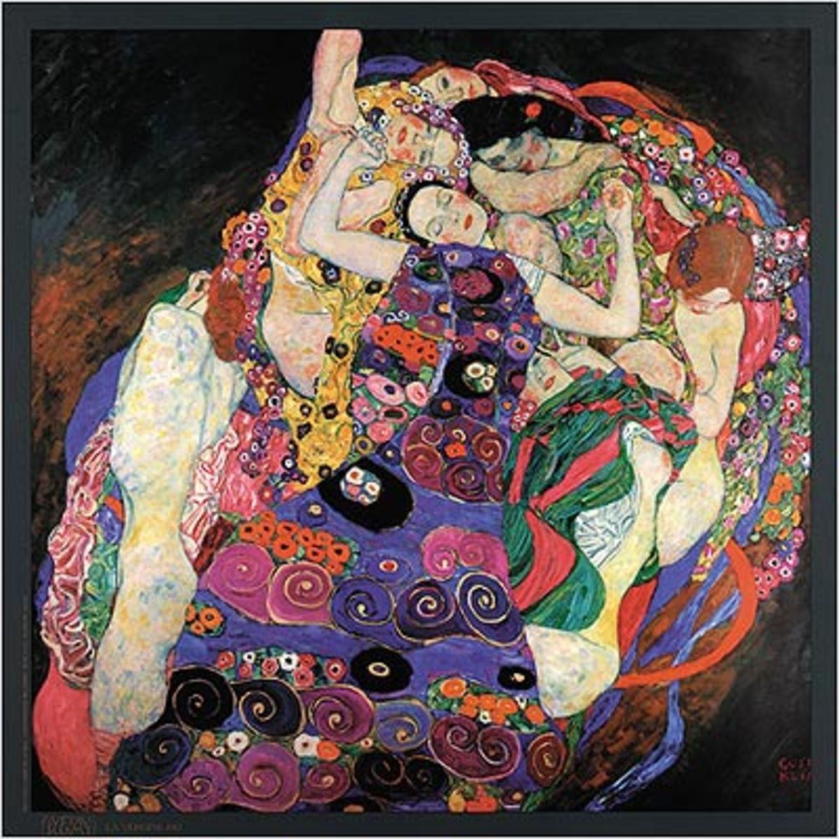 Gustav Klimt, The Maiden 1913