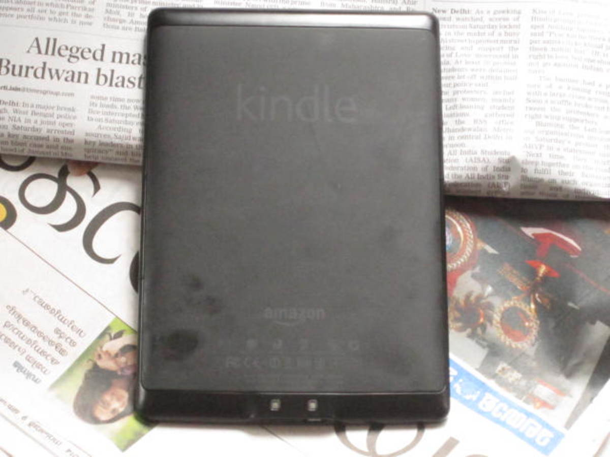 Easy to handle and easy to read. The Kindle is a pleasure to own and use