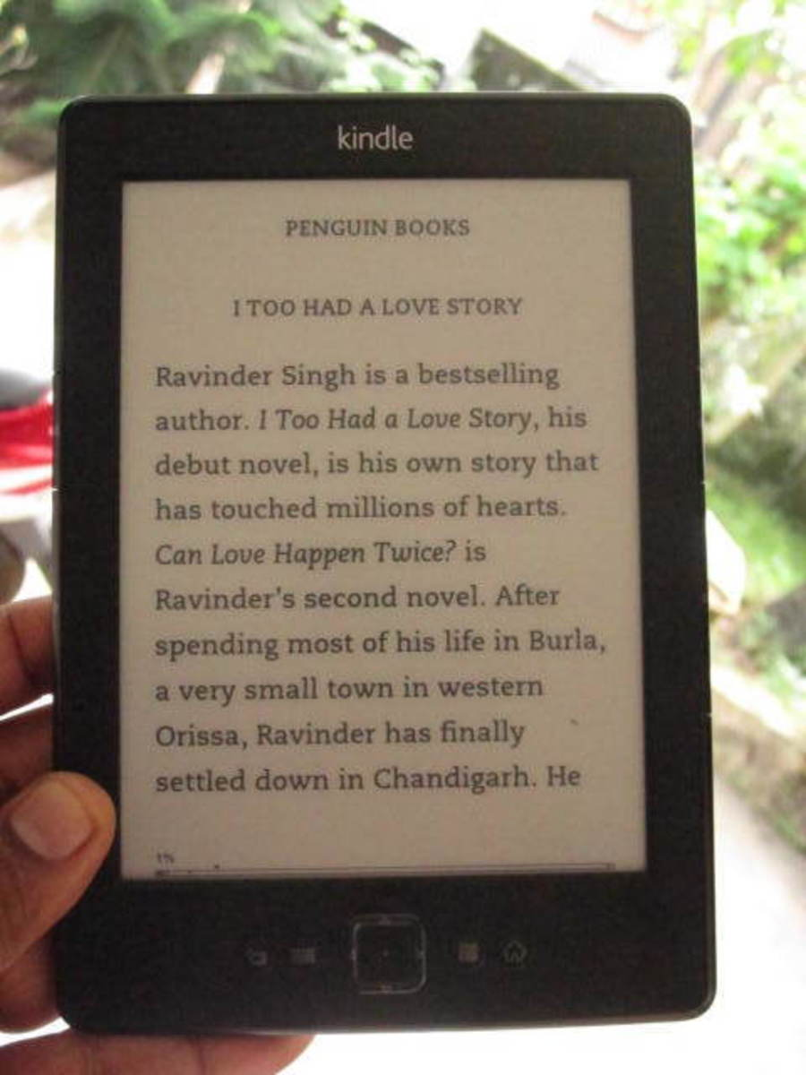 "The downloaded copy of ""I too had a love story"", one of the the most popular novels published in India."