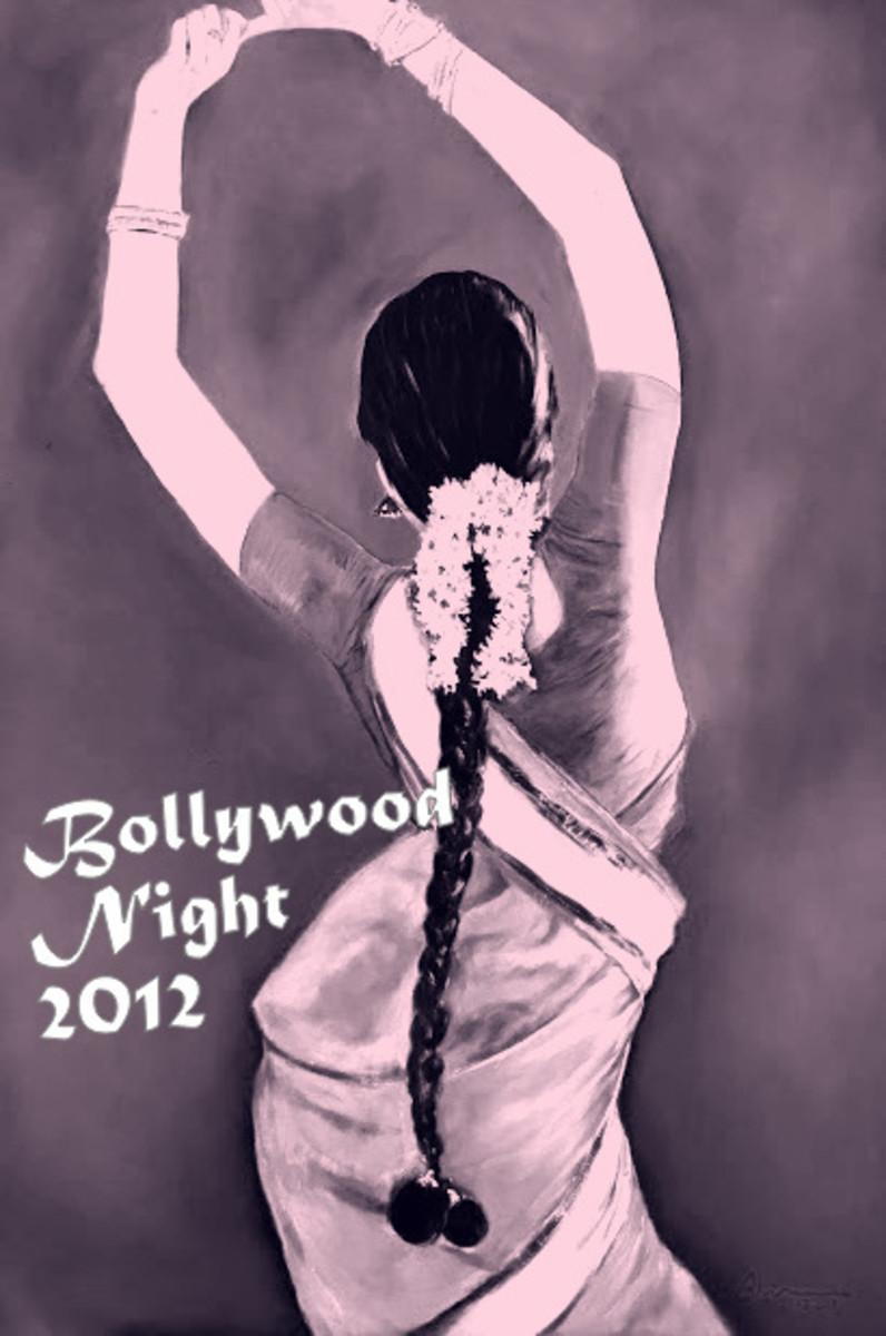 Photo 2: Bollywood Night Invitation Card