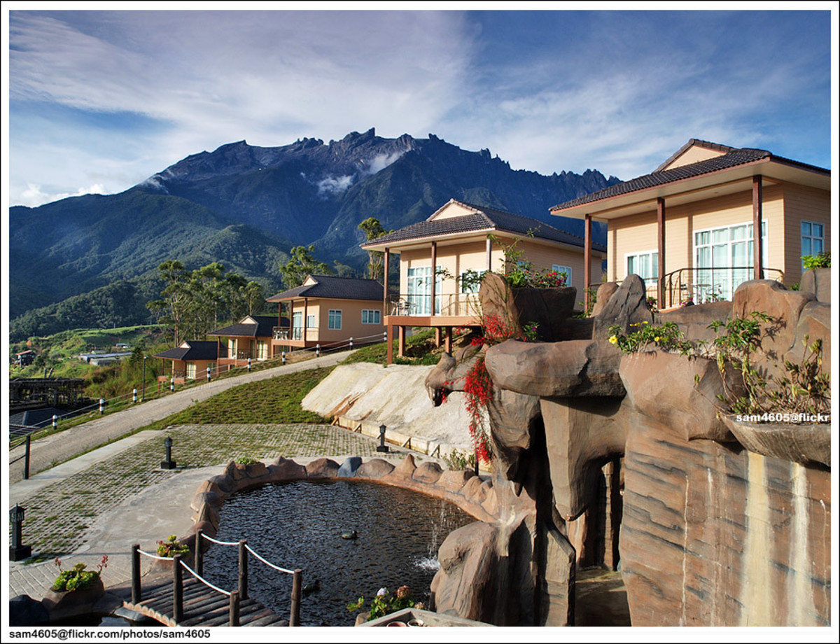 Dream world Resort Kundasang located in the heart of Sabah Famous Mount Kinabalu.