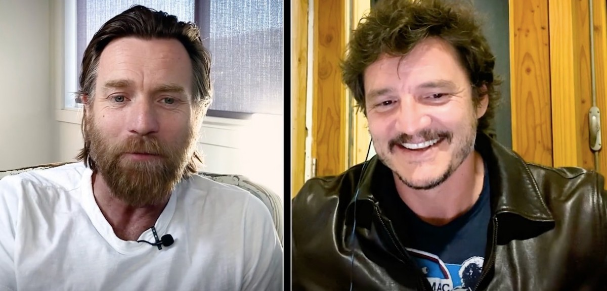 Ewan McGregor and Pedro Pascal interview each other on Actors on Actors.
