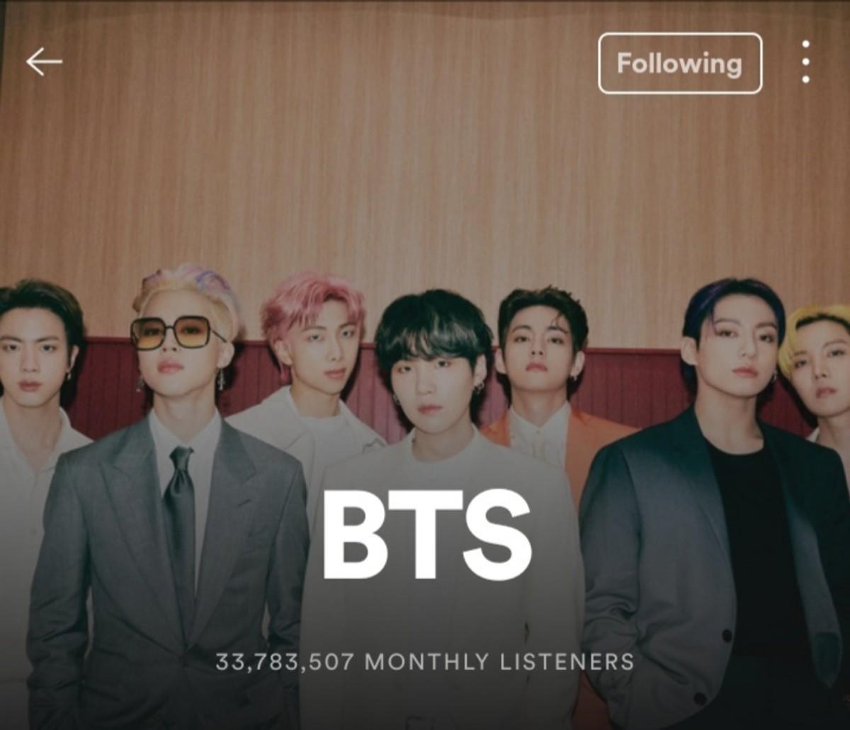 BTS Spotify