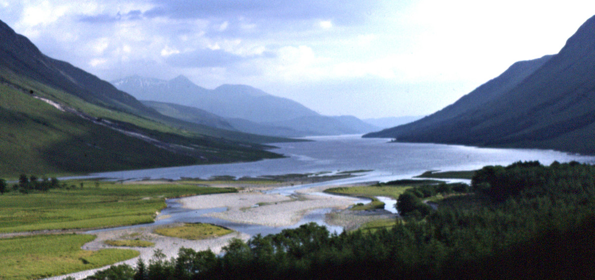 Glen Etive and Loch Etive, Highland Region, Scotland