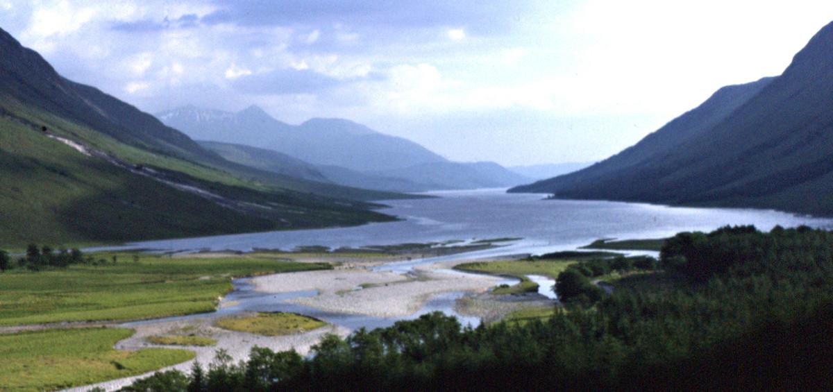 Glen Etive and Loch Etive, Highland Region, Scotland