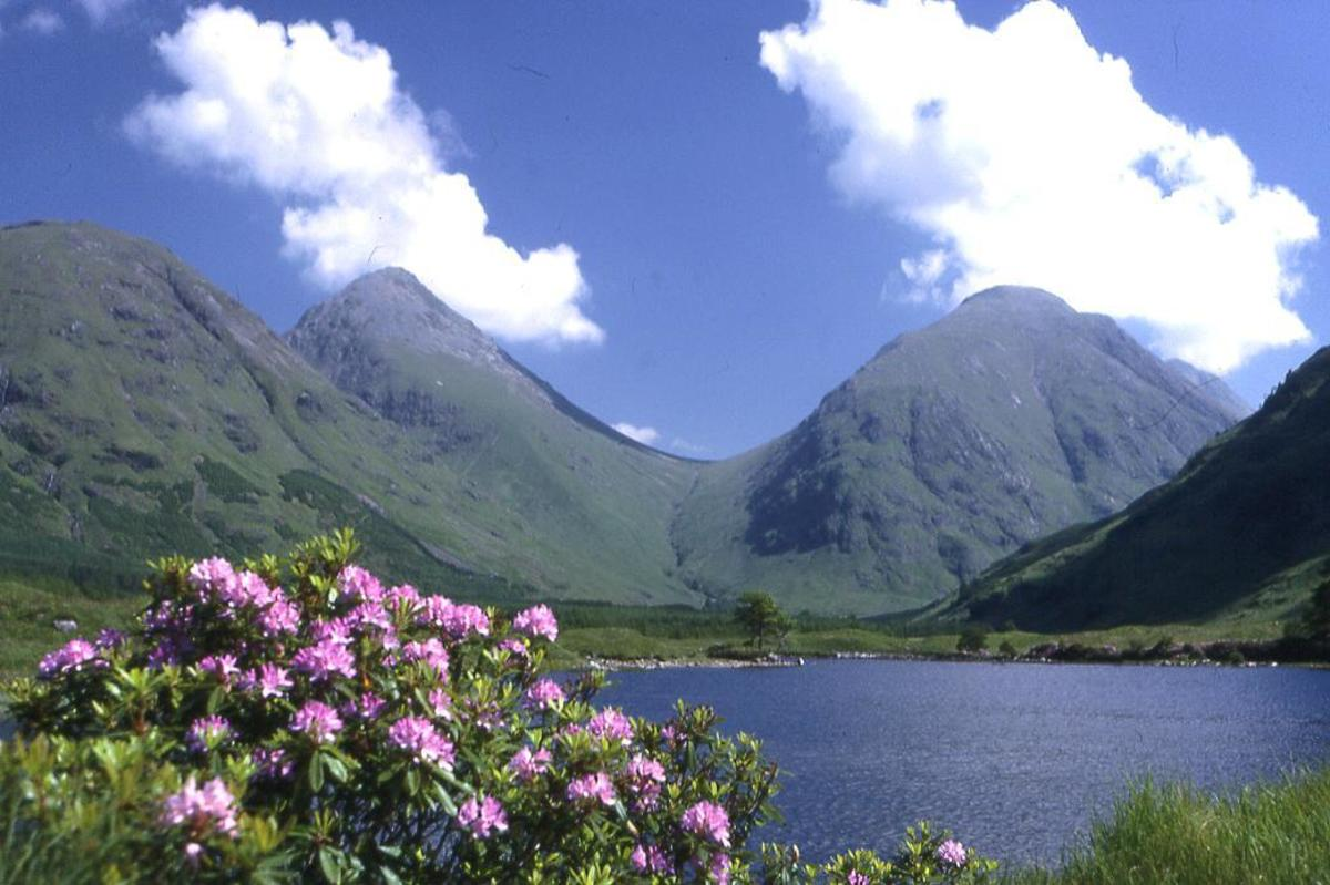 Visiting Glen Etive, Scotland