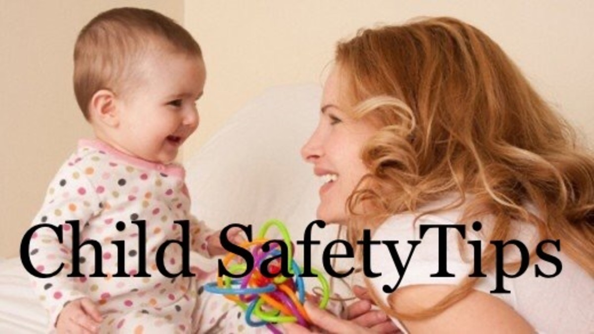 10 Child Safety Tips: For 3 Months to 3 Years