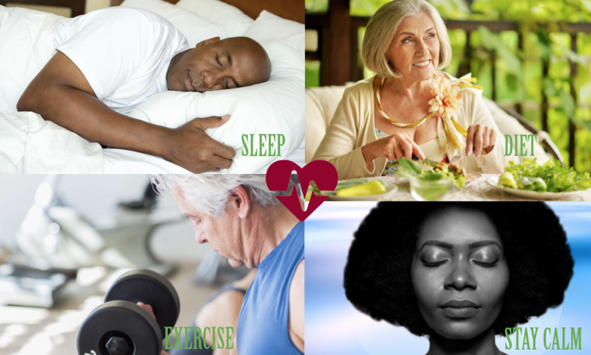 What Experts Say About Sleep, Diet, Exercise, and Staying Calm