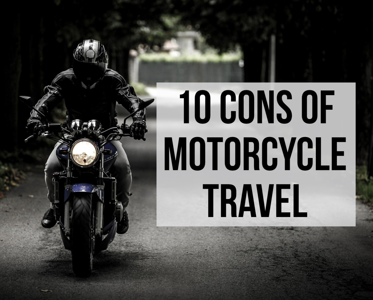 10 Disadvantages of Traveling by Motorcycle