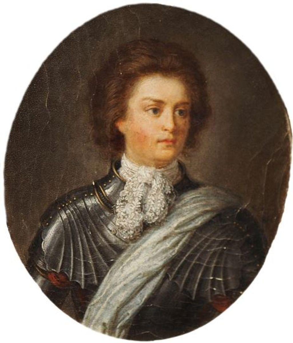 Sophia Dorothea's alleged lover. The missing-murdered soldier Philip Christoph von Konigsmarck.