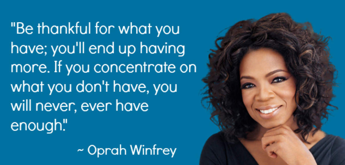 Oprah Winfrey comes from a sibling set of 3
