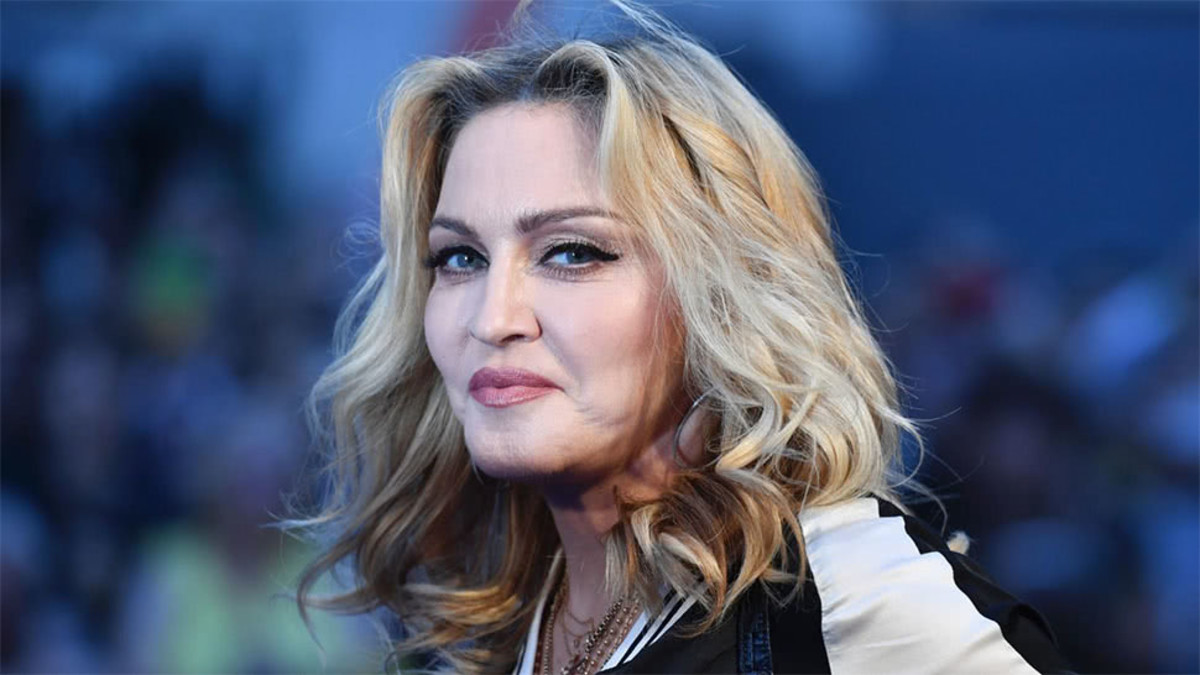 Madonna comes from a sibling set of 7
