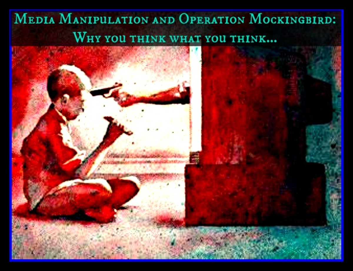 Media Manipulation and Operation Mockingbird:  Why you think what you think...