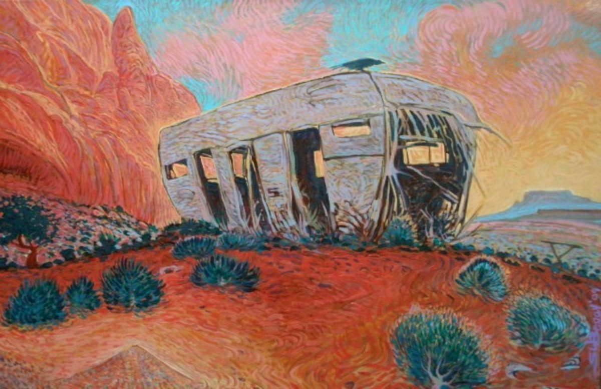 Reclaimed by Silence by Shonto Begay