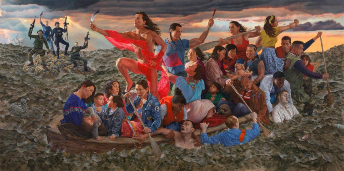 Resurgence of the People by Kent Monkman