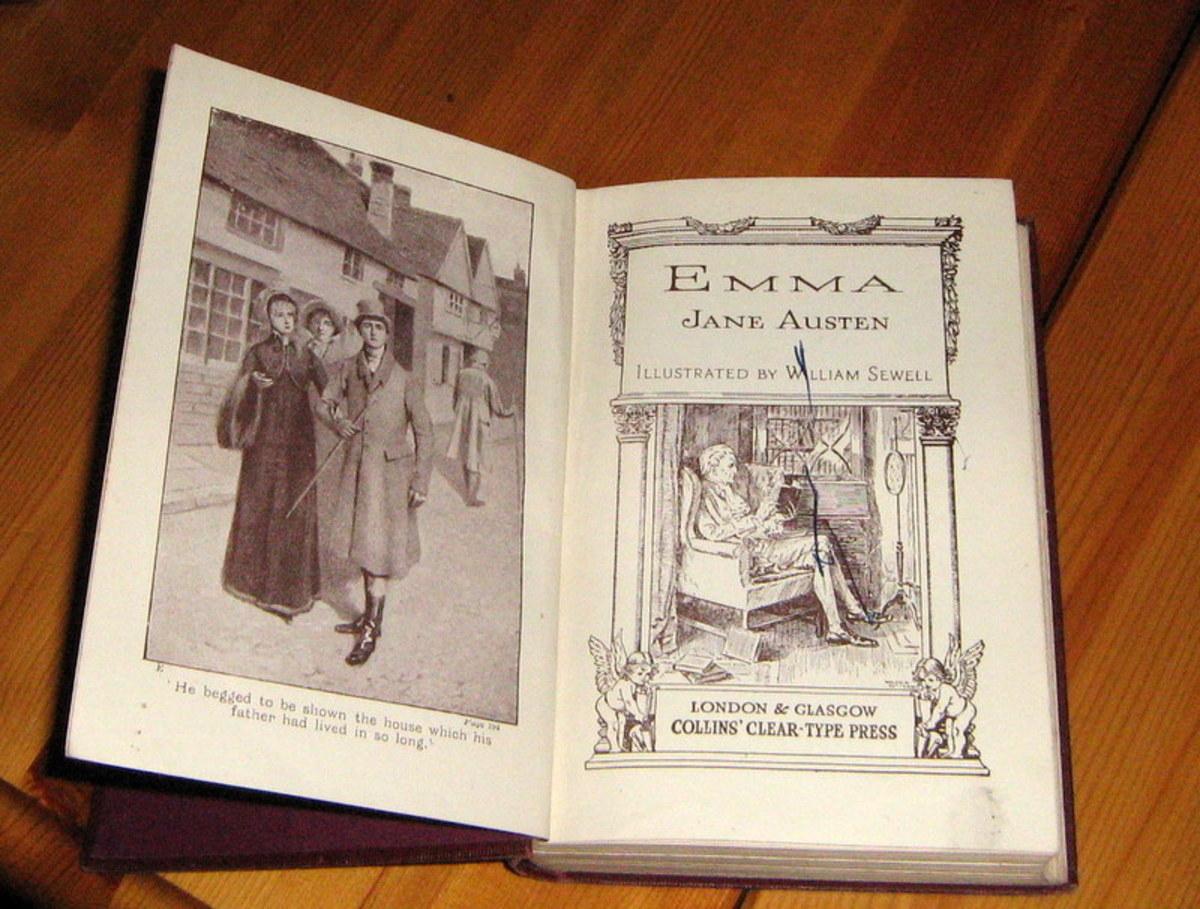 My Copy of Emma by Jane Austen