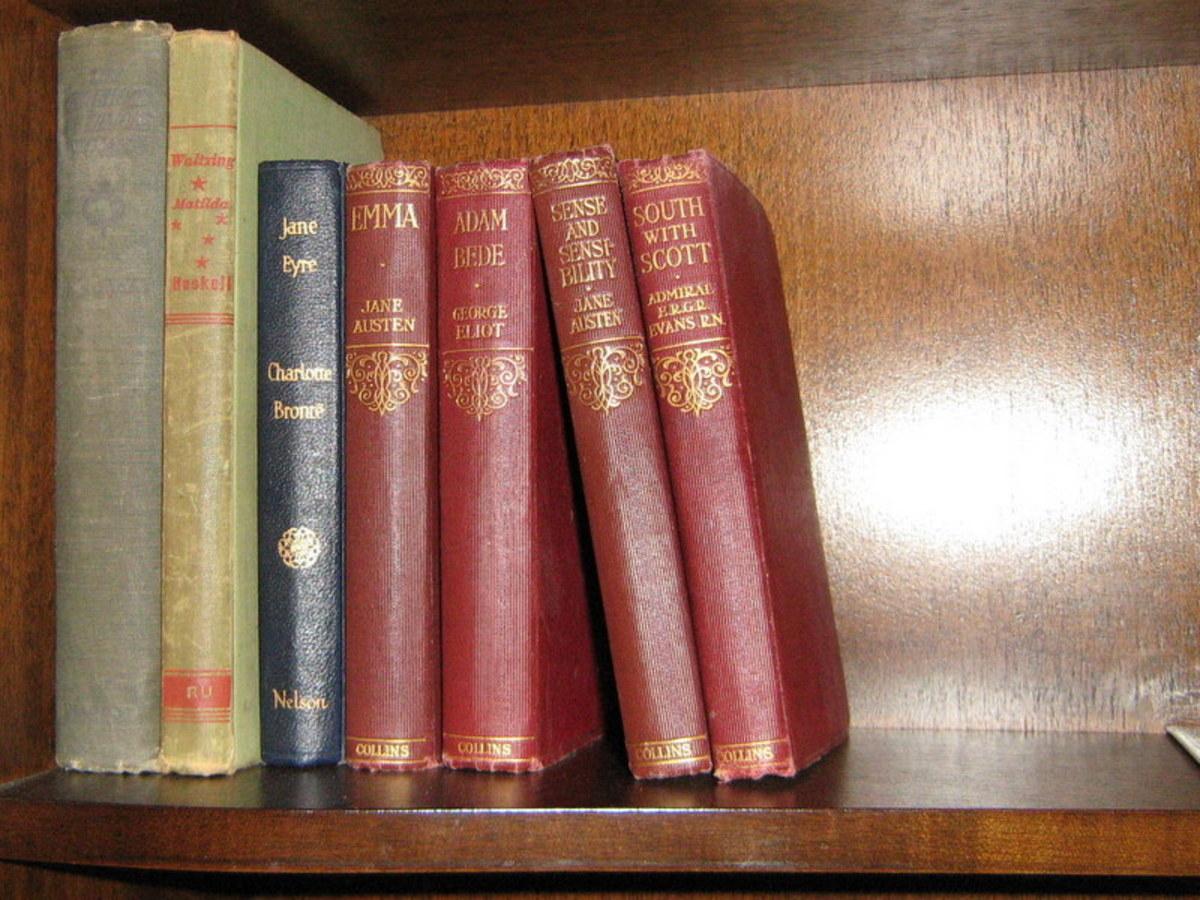 My collection of Jane Austen Books
