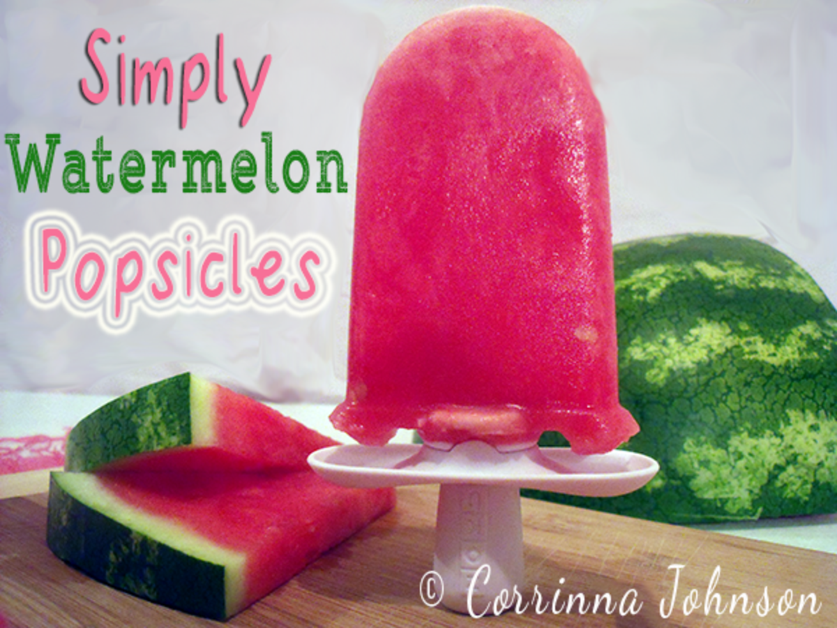 Simply 100% Real Fruit Watermelon Popsicles