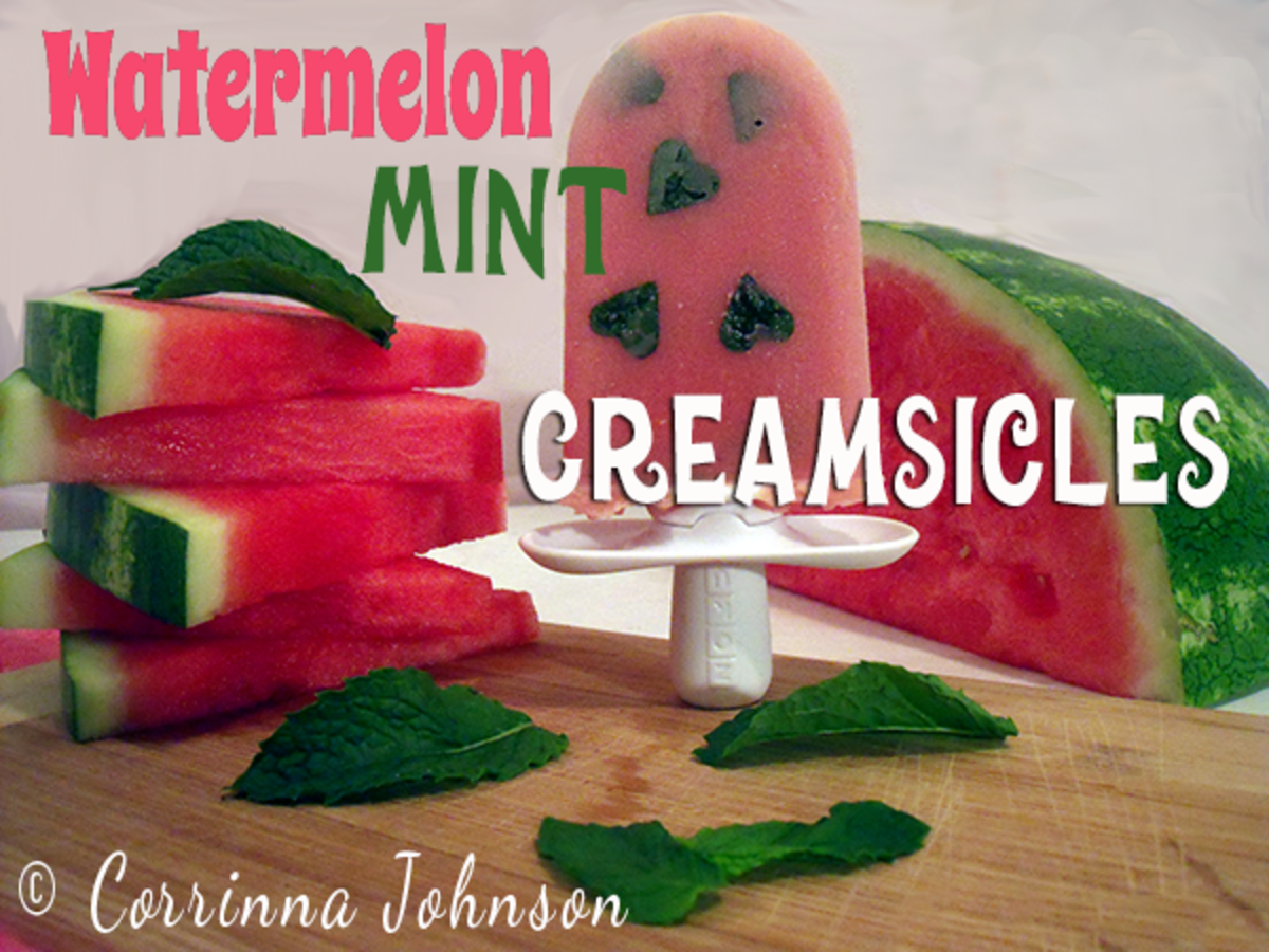 Watermelon Mint Creamsicles