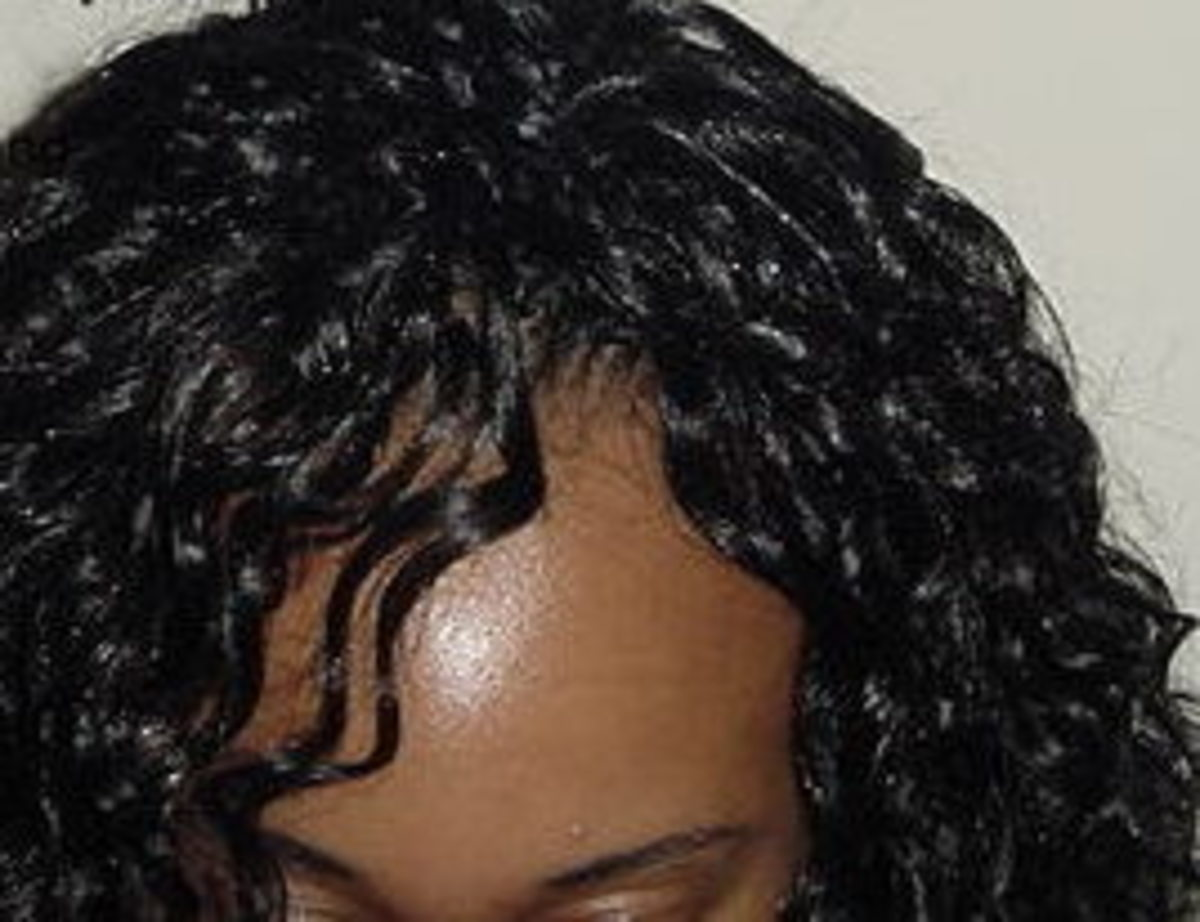 Invisible treebraids hairline