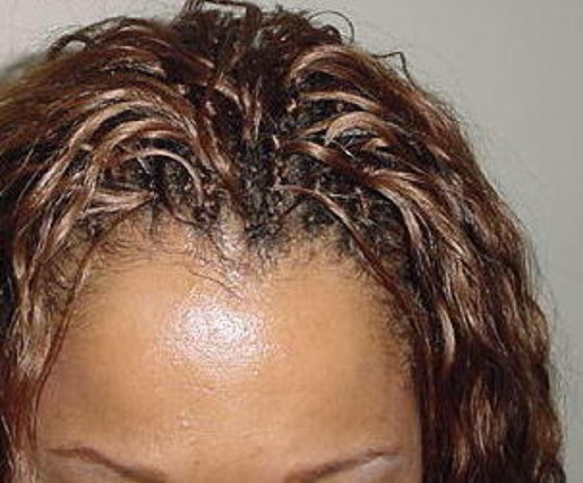 Regular treebraids hairline