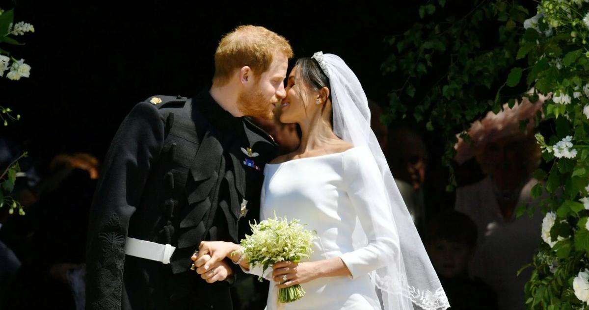 Harry and Megan wedding day