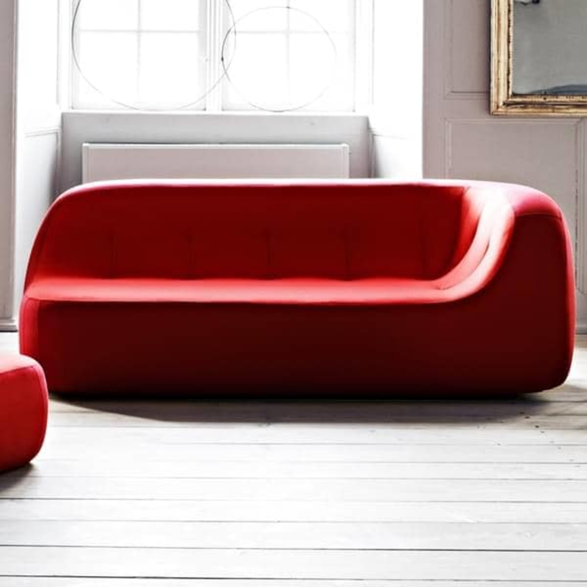Why not add a unique feature element such as a sofa to transform a room.
