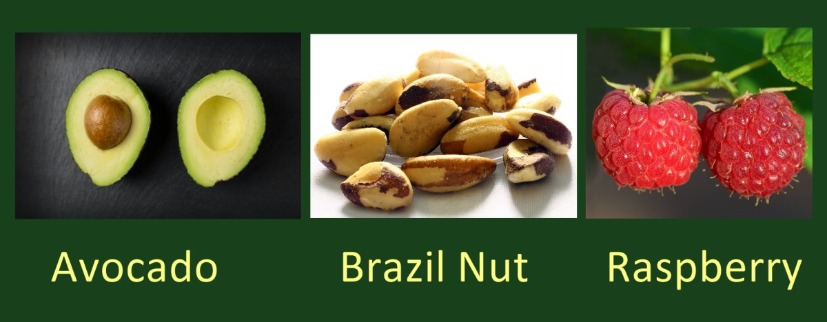 Plants and Nuts With High Provitamin A Content