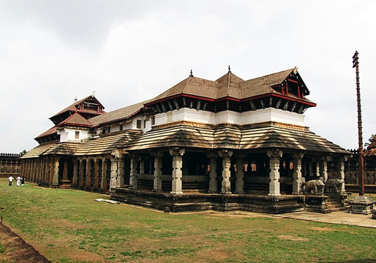 Jain Temple at Moodbidri