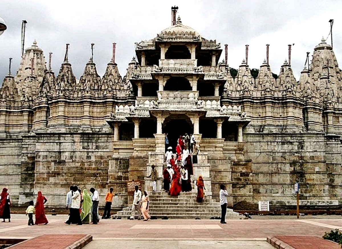 Jain Temple at Ranakapur, Rajasthan