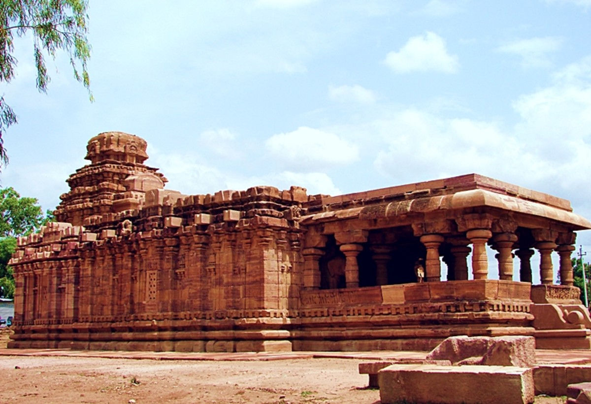 Jain Temple at Pattadkal, Karnataka