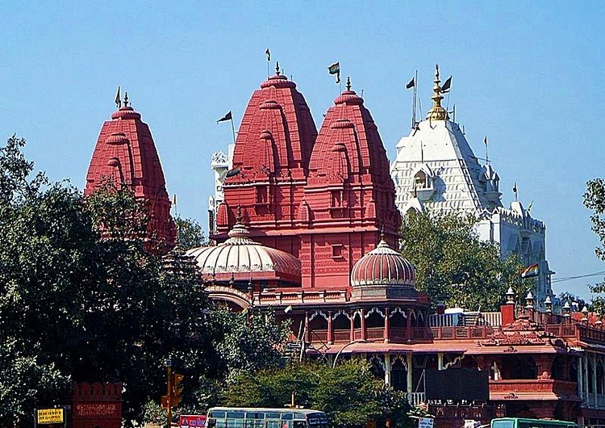 Jain Red Temple at Chandani Chowk, Delhi