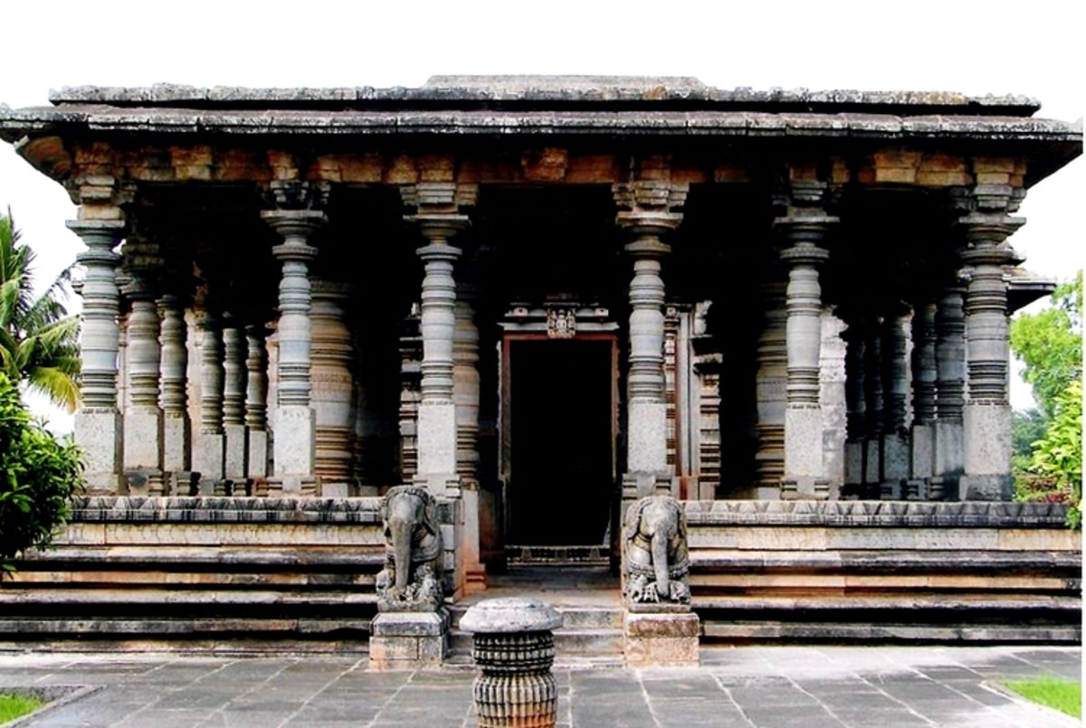 Jain Temple at Halebid, Karnataka