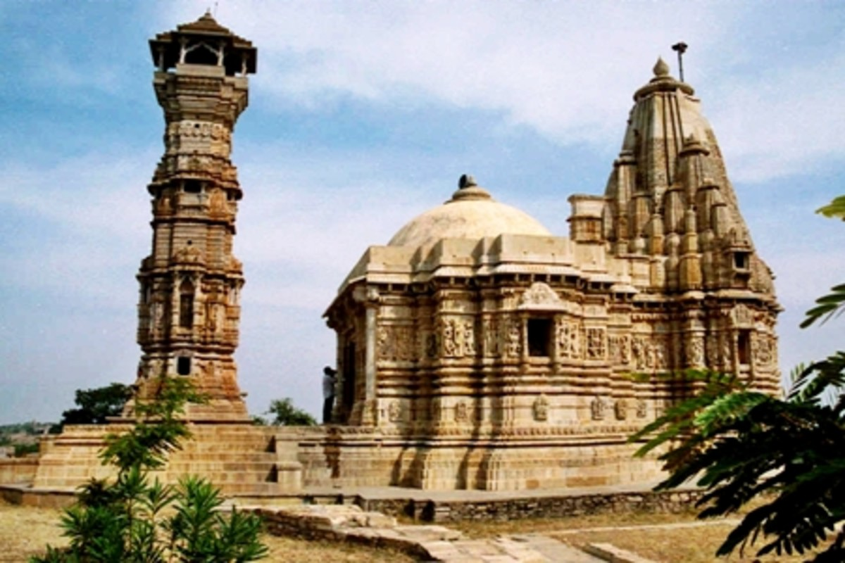 Jain Temple at Chittorgarh Fort