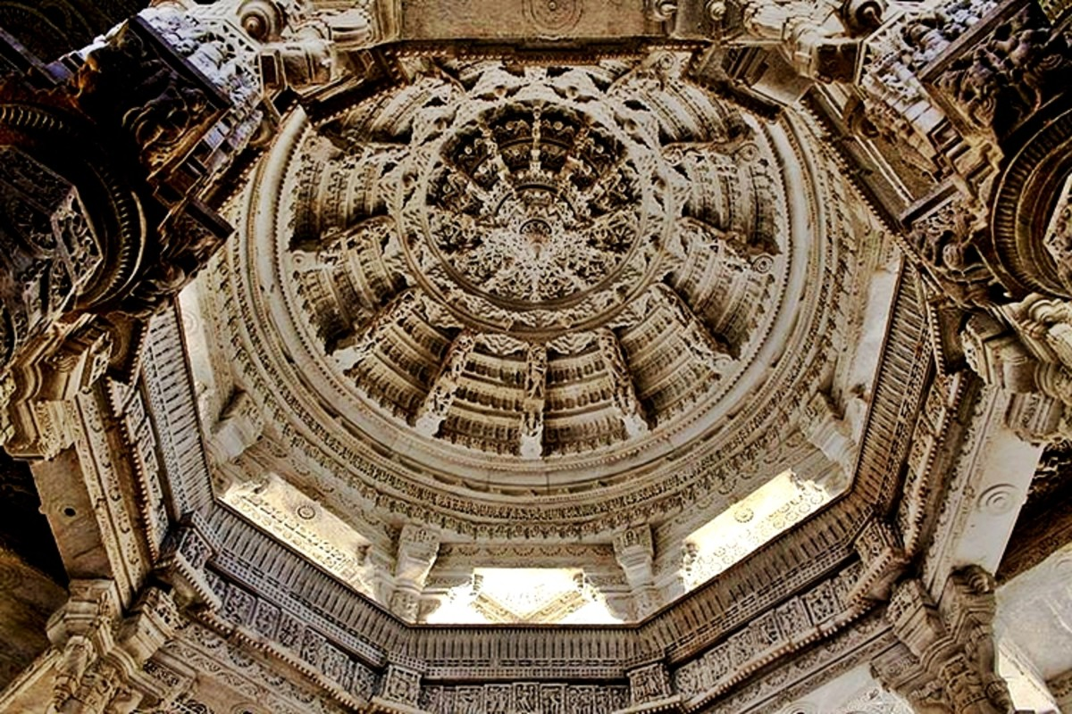 Ceiling of the Ranakapur Jain Temple