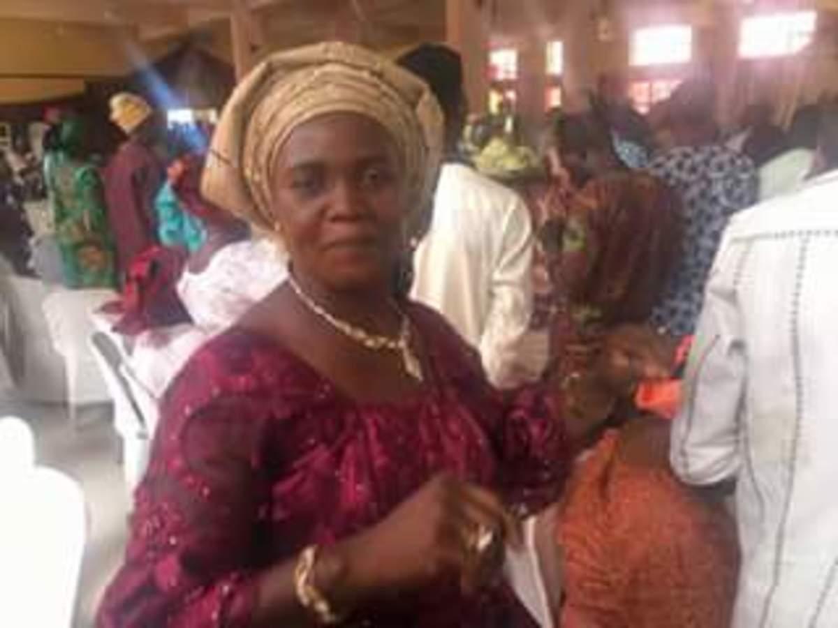 Dr. (Mrs) Jeje Shola Dancing in the midst of Congregation
