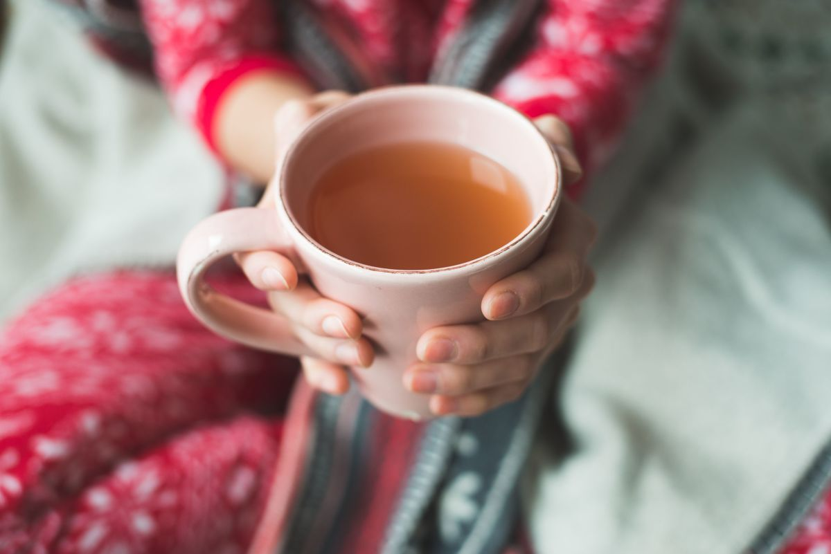 Relaxing things such as drinking a nice hot cup of tea can help you ease tension so that you can get back to focusing on the task at hand.