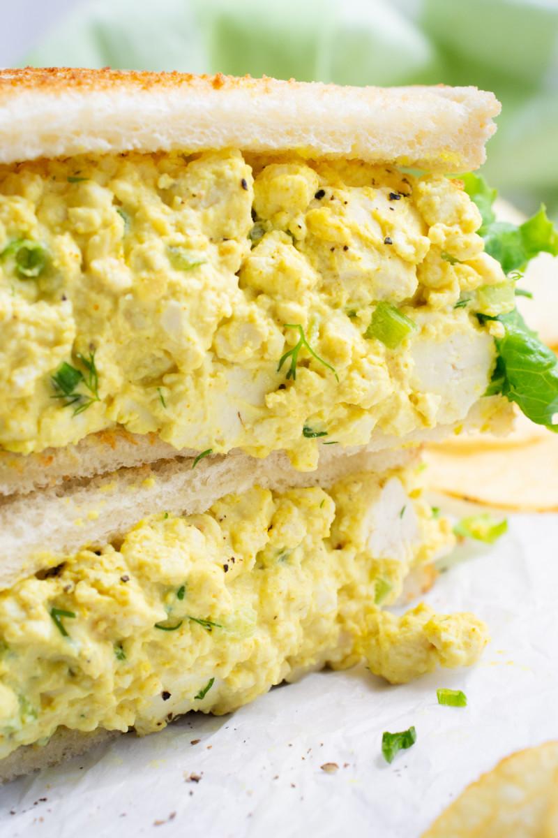 "Vegan (Tofu) ""Egg"" Salad"