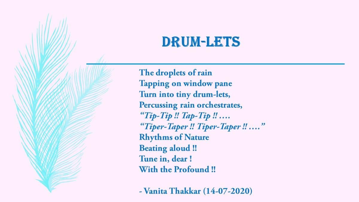 "My English Poem for ""Megh Gunjan"" last year - in 2020 ...."