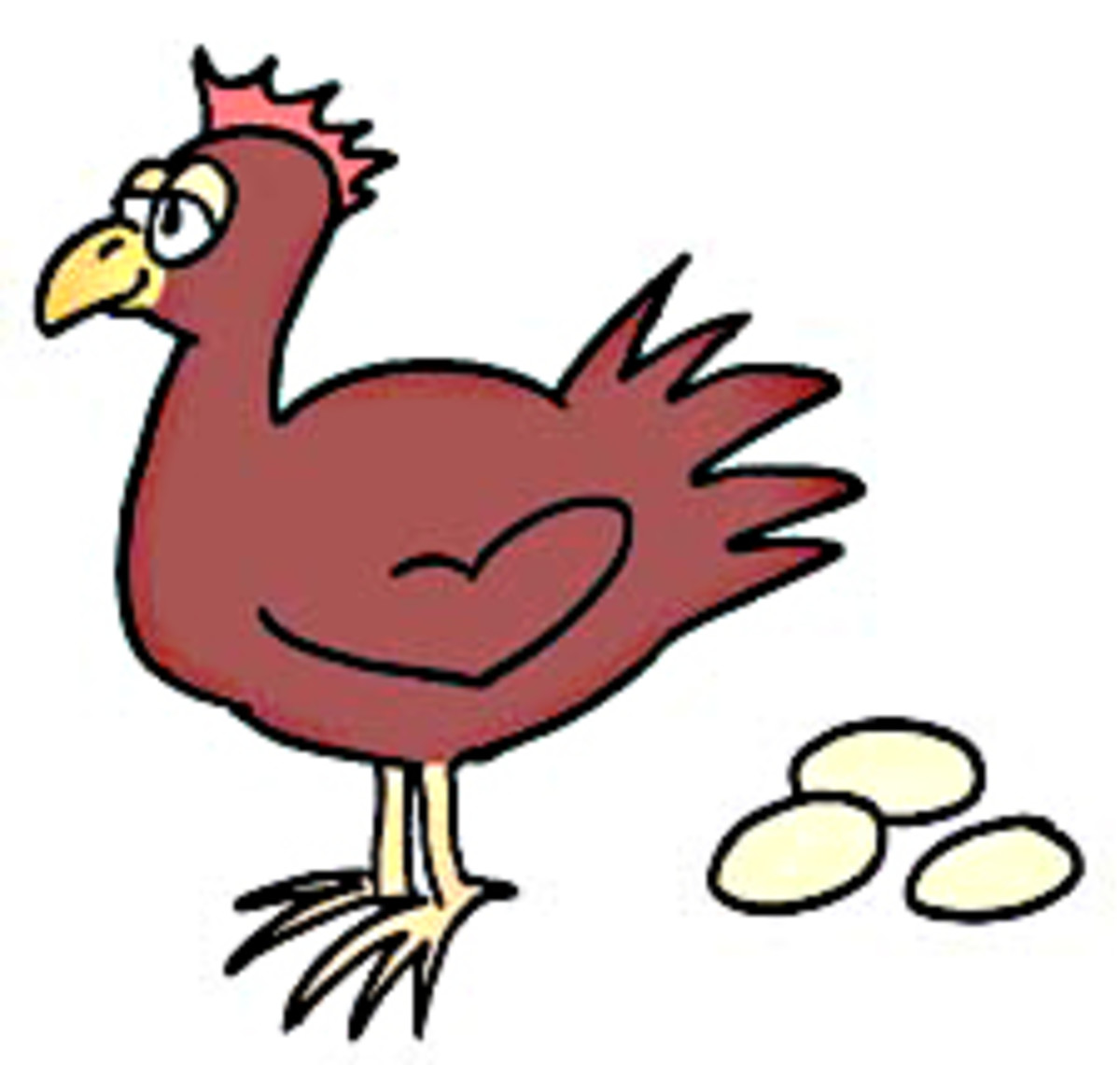 The Chicken and the Egg - Which came First? An Accurate, but Not Very Serious Analysis
